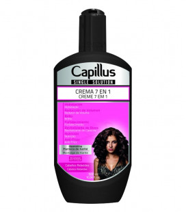 Crema 7 en 1 Pelo Rebelde - SINGLE SOLUTION CAPILLUS 300ml