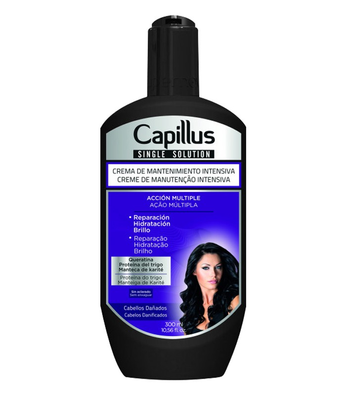 Crema de Mantenimiento Intensivo - SINGLE SOLUTION CAPILLUS 300ml
