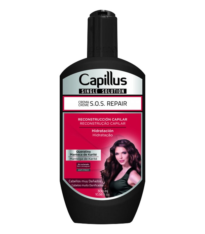 Crema S.O.S Repair Pelo Muy Dañado - SINGLE SOLUTION CAPILLUS 300ml