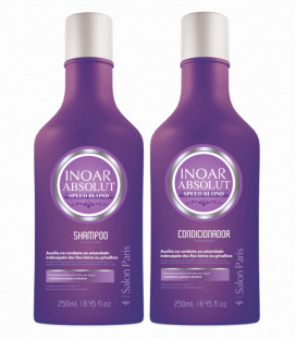 NEUTRALIZADOR PELO RUBIO - ABSOLUT SPEED BLOND INOAR